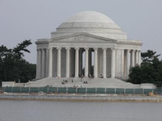 THE JEFFERSON MEMORIAL, WASHINGTON DC - A WISE AND FRUGAL GOVERNMENT - COPYRIGHT MARIELENASTUARTFORUSSENATE2012.COM