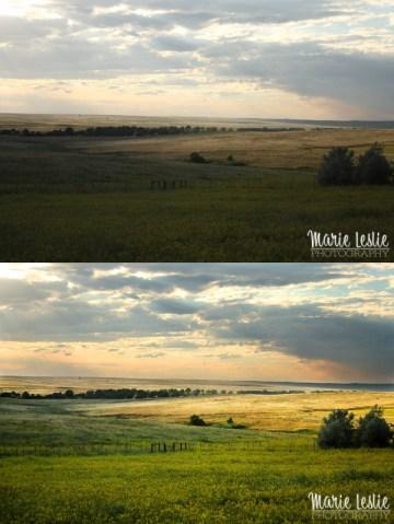colorado meadow, photoshop actions
