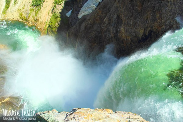 Over the Lower Falls