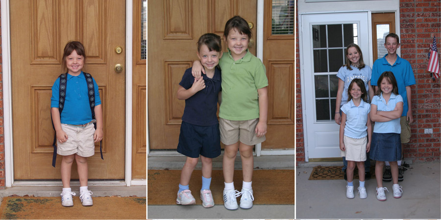 first day of school photos 1