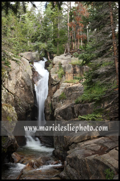 Chasm Falls, Rocky Mountain National Park