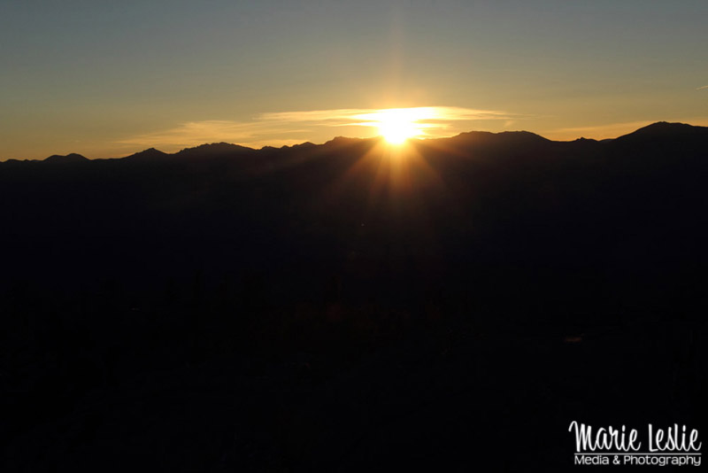 Sunset from Devils Head Fire Tower