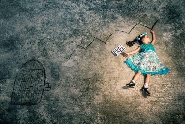 Dreaming about freedom (Rêver de liberté) © Mahmoud al-Kurd.