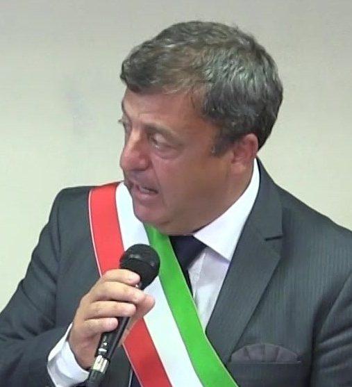 Il sindaco Giovani Palomba – foto Pasquale D'Orsi