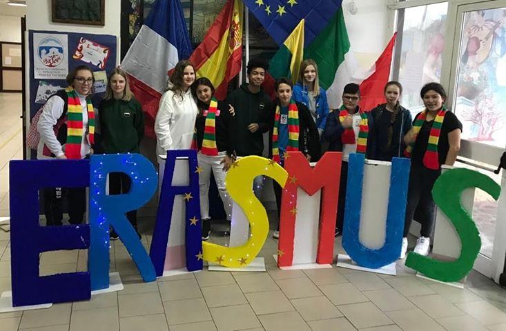 Progetto Erasmus contro le discriminazioni. Studenti stranieri ospiti della Don Bosco-D'Assisi