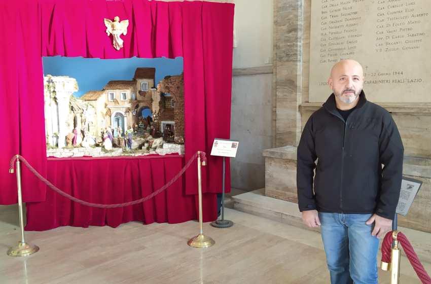 E' di un artista torrese la Natività esposta in piazza del Popolo a Roma
