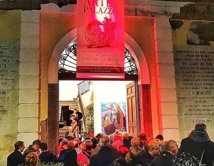 Arte a Palazzo: quasi diecimila visitatori e tanti consensi. Entusiasti i giovani