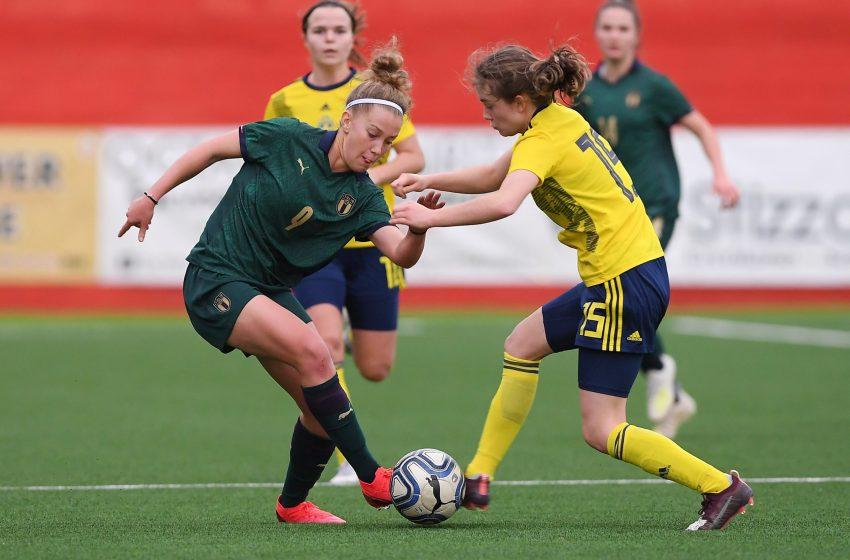 Torre del Greco porta bene alle azzurrine: la Nazionale Under 19 vince 4 -1 contro la Svezia