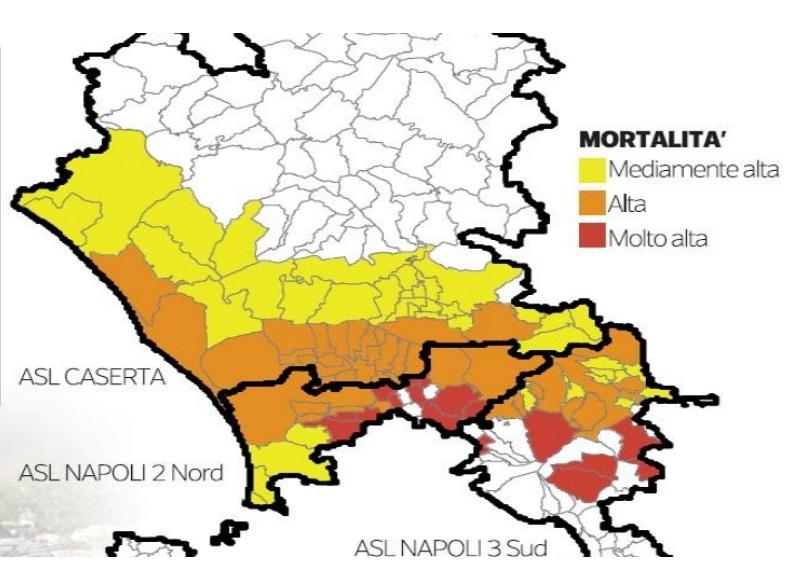 Tumori e inquinamento nella terra dei fuochi vesuviana