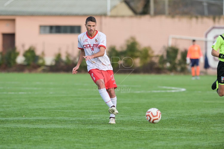l centrocampista Giuseppe Palma – Foto Salvatore Varo