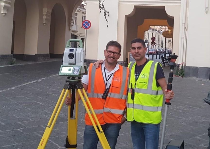 Covid, droni per sanificare le aree infette: il progetto di due torresi sperimentato a Casoria