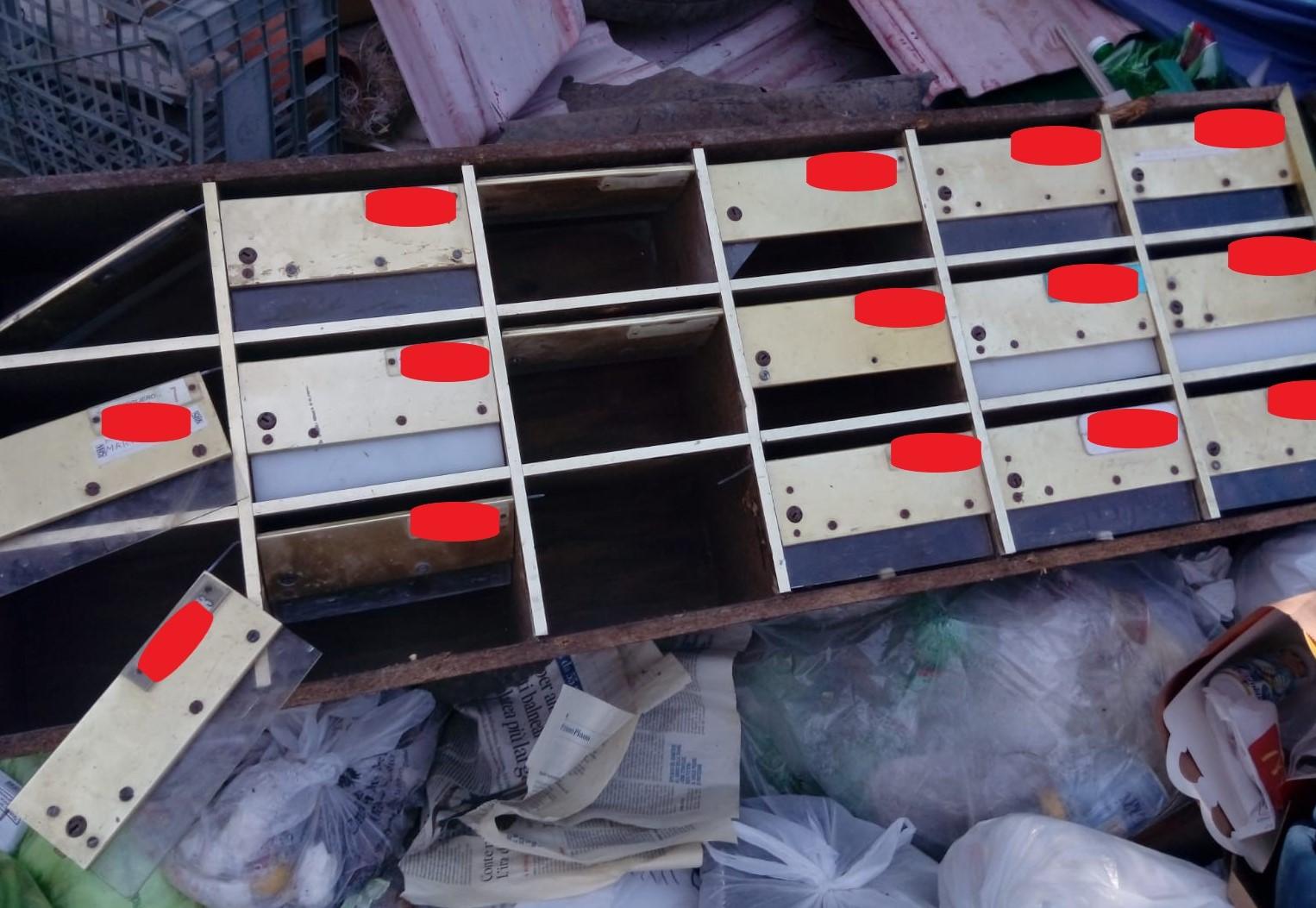 Impresa edile abbandonava i rifiuti per strada: identificata e multata