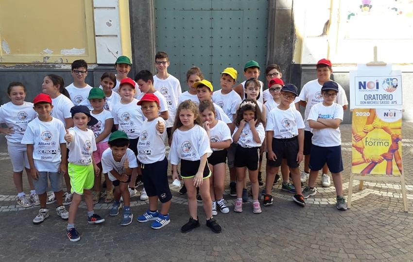 Si chiude in allegria il campo estivo organizzato dall'oratorio don Michele Sasso