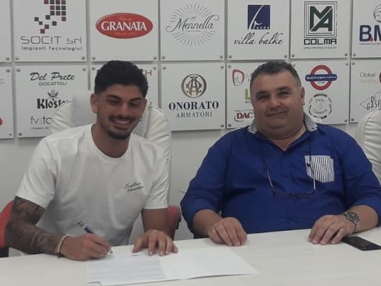 Primo acquisto ufficiale per la Turris: Antonio Romano cresciuto nelle giovanili del Napoli