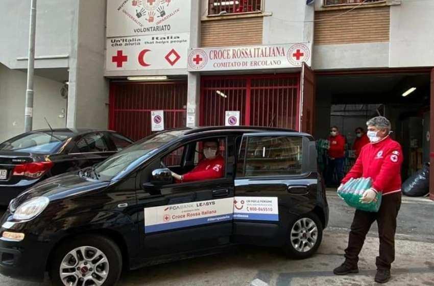 Rubata alla Croce Rossa la macchina della solidarietà: distribuiva spese solidali