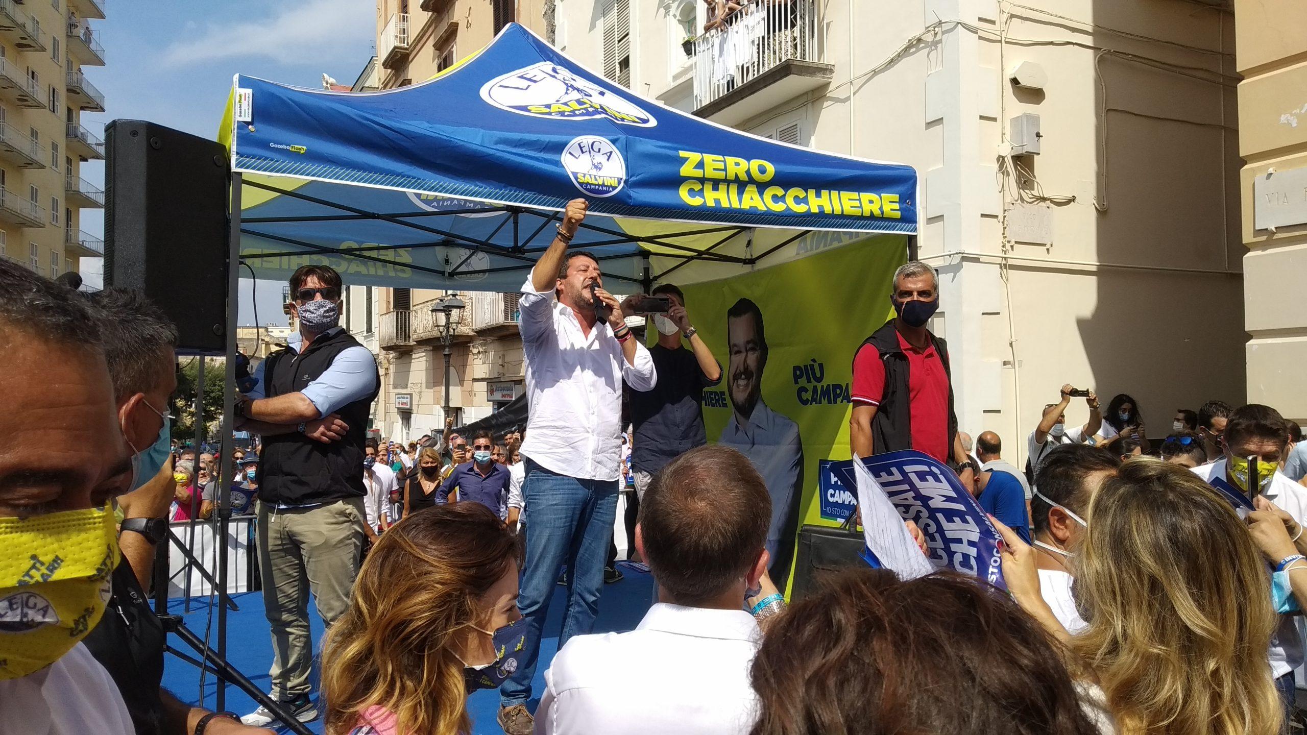"""Stoccata del sindaco Giovanni Palomba alla Lega di Salvini: """"Tanto rumore per nulla"""""""
