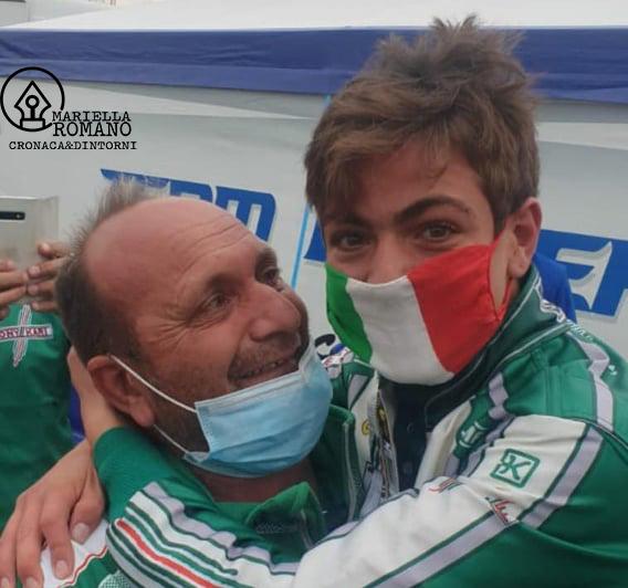 Manuel Scognamiglio vince ancora: è campione italiano 125 IameX30 di karting
