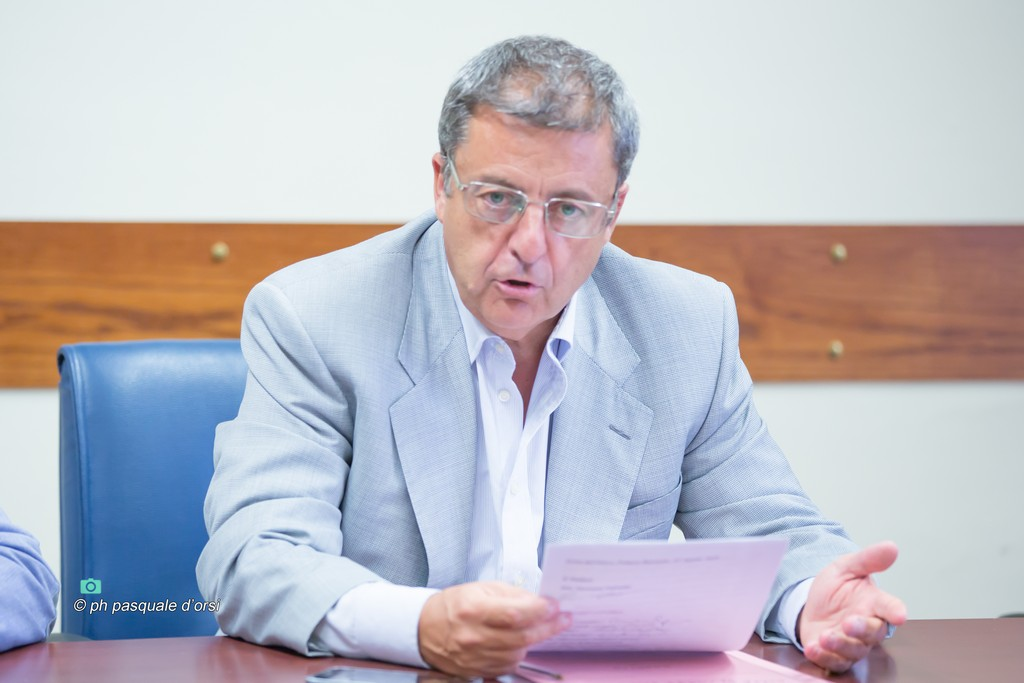 Il sindaco Giovanni Palomba- Foto Pasquale D'Orsi