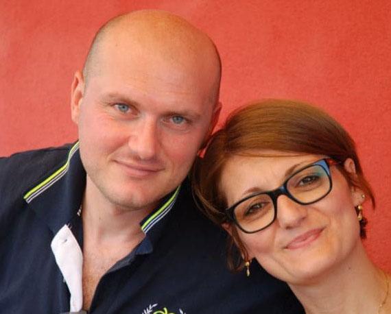 Salvatore Brancaccio con la moglie Stefania