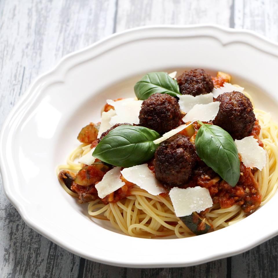 pasta-met-pestoballetjes
