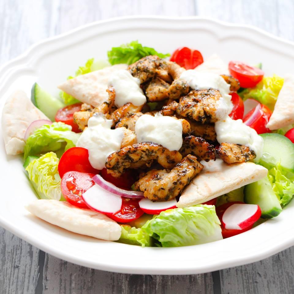 salade-met-kip-en-gyros