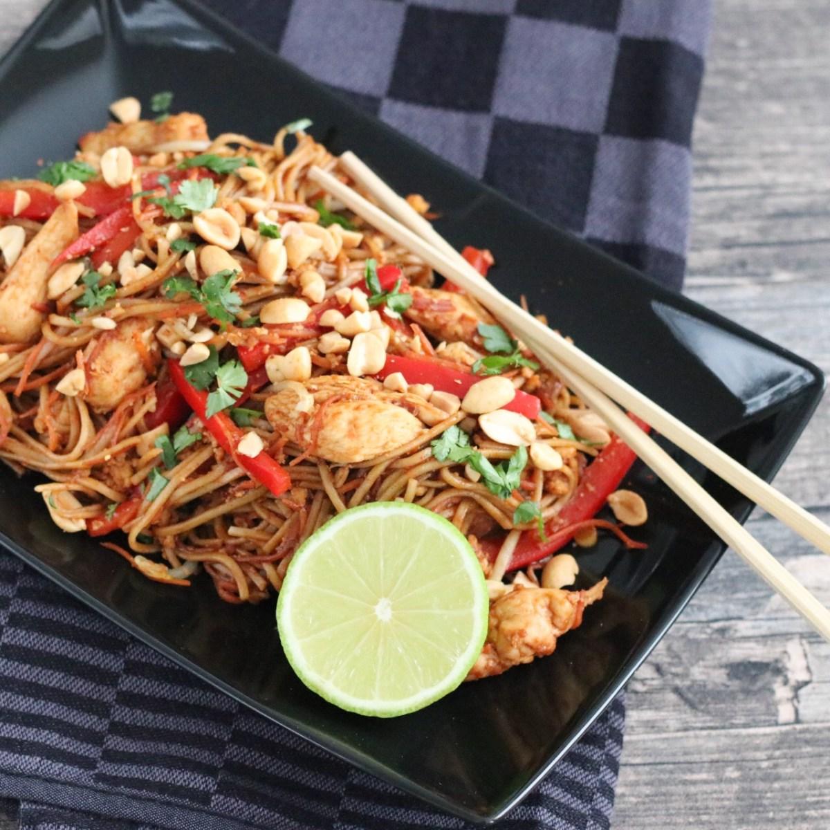 Recept Pad Thai met kip