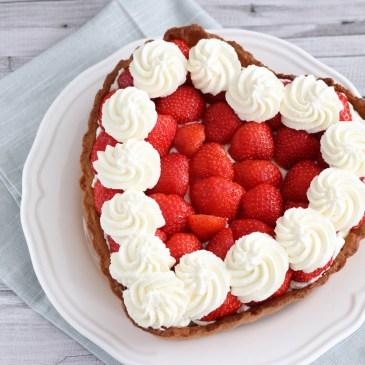 Verwonderend Harttaart met aardbeien - Mariëlle in de Keuken AB-92