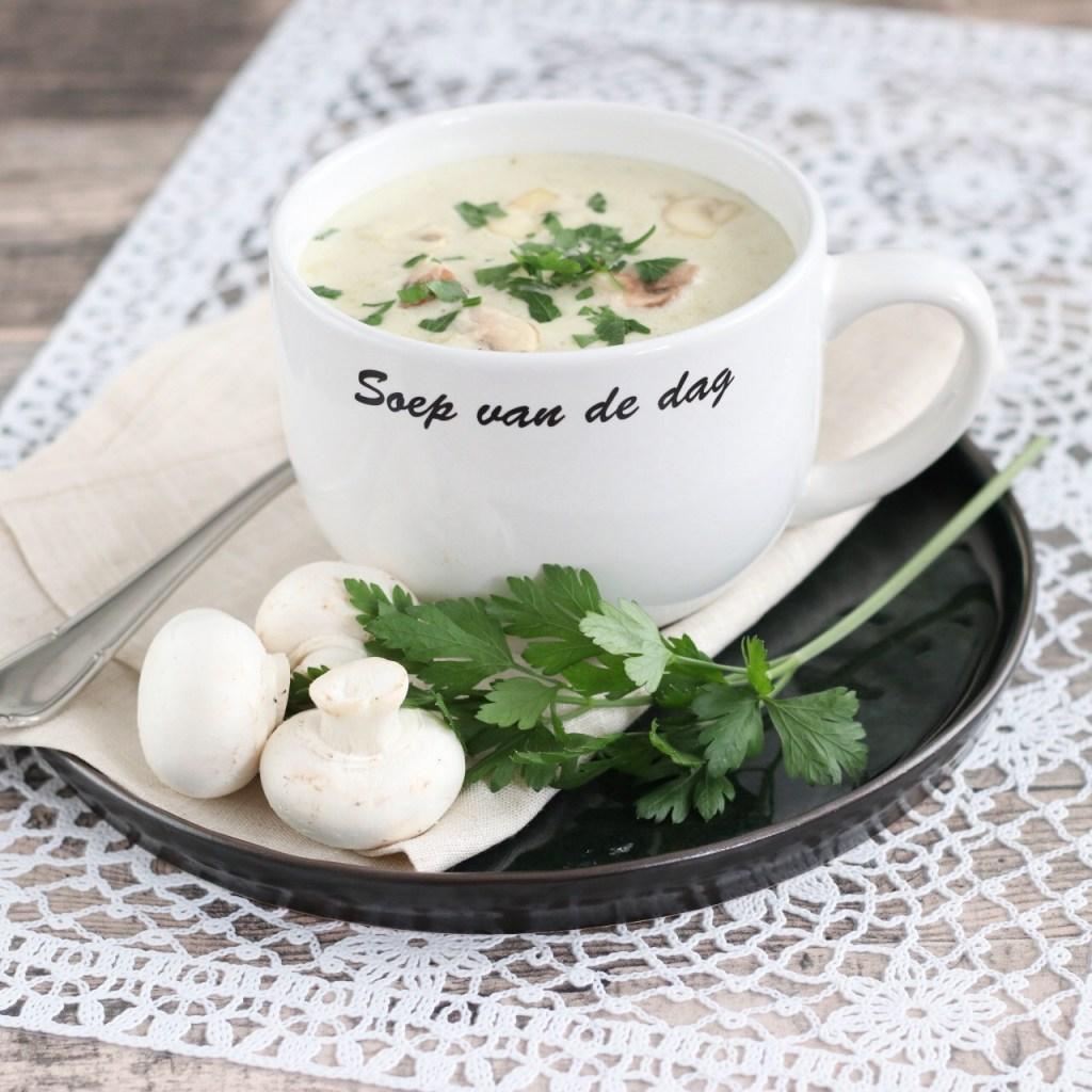 Recept champignonsoep