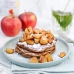 Volkoren appel-yoghurt pancakes