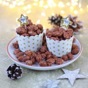 Gebrande amandelen zoals op de kerstmarkt