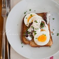 Swedish open egg sandwich with ansjovis | thePictureKitchen: food & lifestyle stock photos