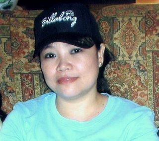 Mariel with baseball cap