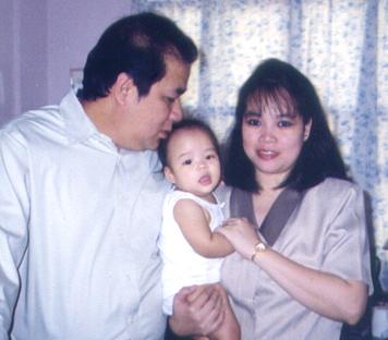 Bong, Mariel and Baby Sam