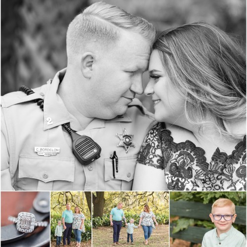 Ashley + Corey | A Spring Engagement and Family Session