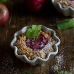 Red-Love-Apple Clafoutis!