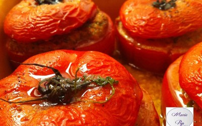 Tomates farcies… Je veux du soleil dans mon assiette !