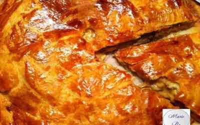 Tourte au poulet et aux champignons… On se prend pour la béchamel… on fond !
