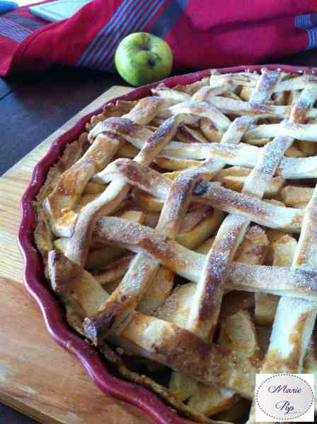 Apple & Pear Pie - la recette