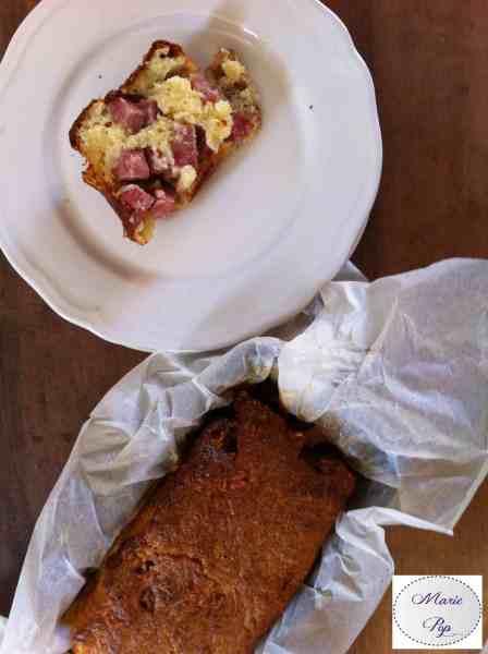 Cake au saucisson à l'ail - la recette