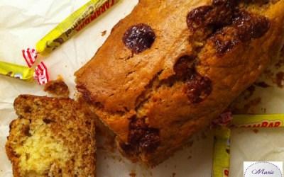 Cake au carambar et chocolat blanc – C'est pas une blague !