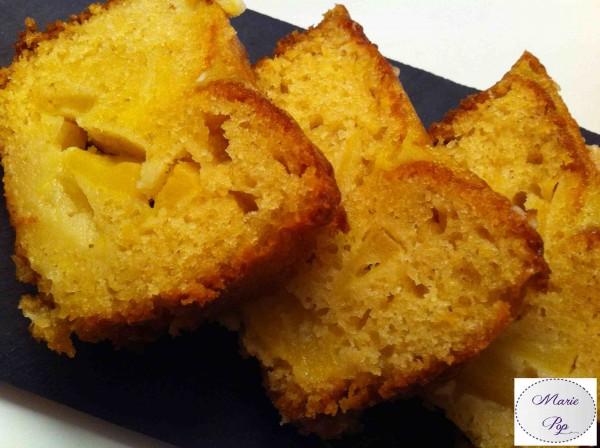 Cake Moelleux aux pommes – Aussi douillet qu'une couette !