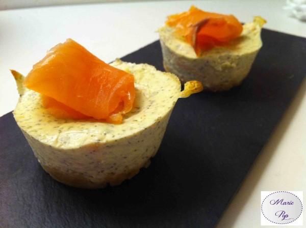 Cheesecake au saumon fumé - la recette