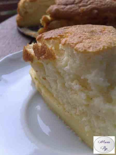 Gâteau magique à la vanille - la recette