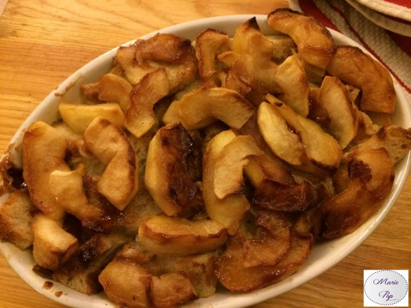 Pain Perdu aux pommes et en gratin ! Bonne résolution #4 : Se surprendre…