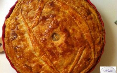 Tourte aux Noix de St Jacques et Cabillaud… Digne d'un repas chic !