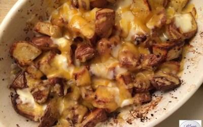 Pommes de terre super cheesy… ça donne le sourire !