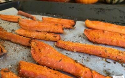 Carottes rôties à l'ail et au thym – Une recette maligne !