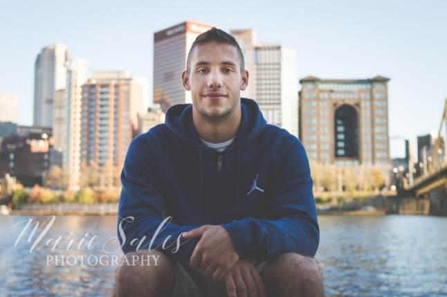 Pittsburgh Senior Portraits on the North Shore