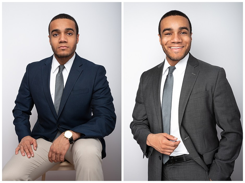 Two Outfit Men's Headshots