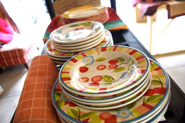 These plates have been with us through lots of good times.